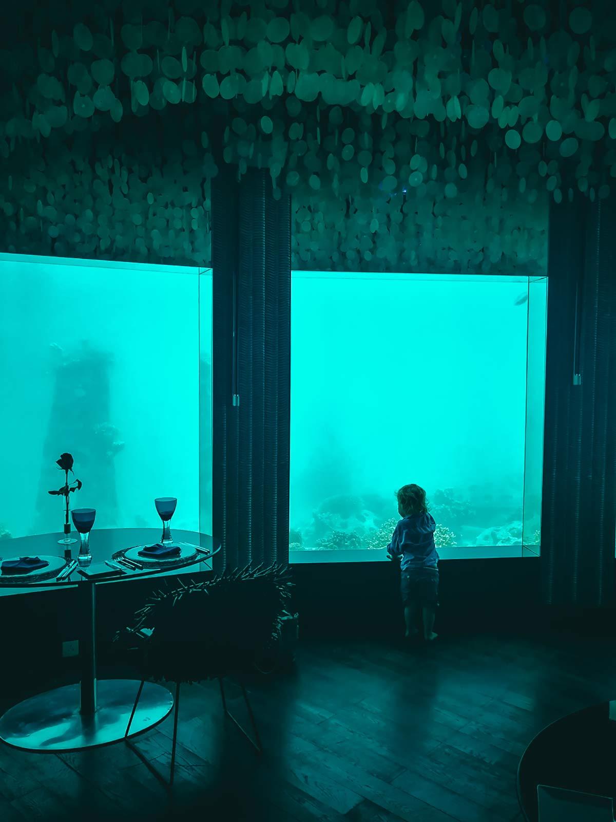 Niyama Unterwasser Restaurant