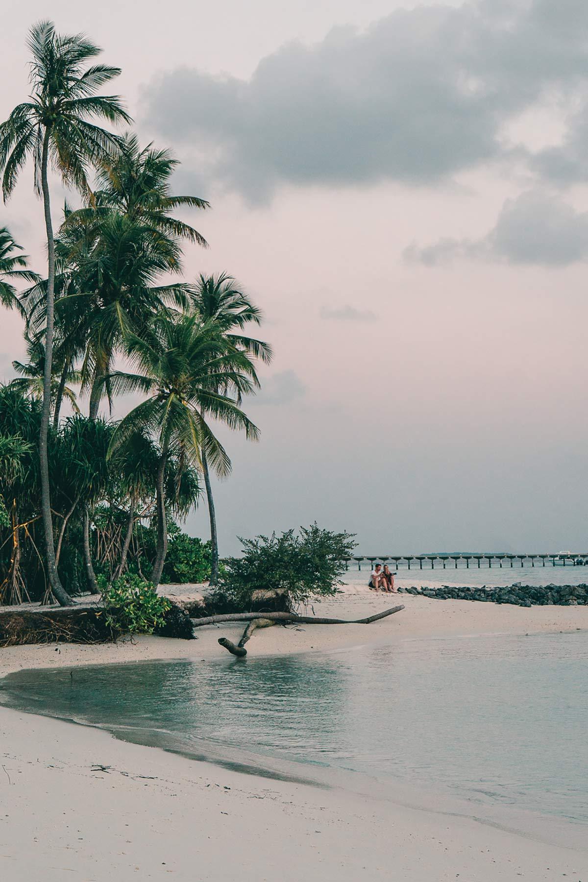 Paar Malediven
