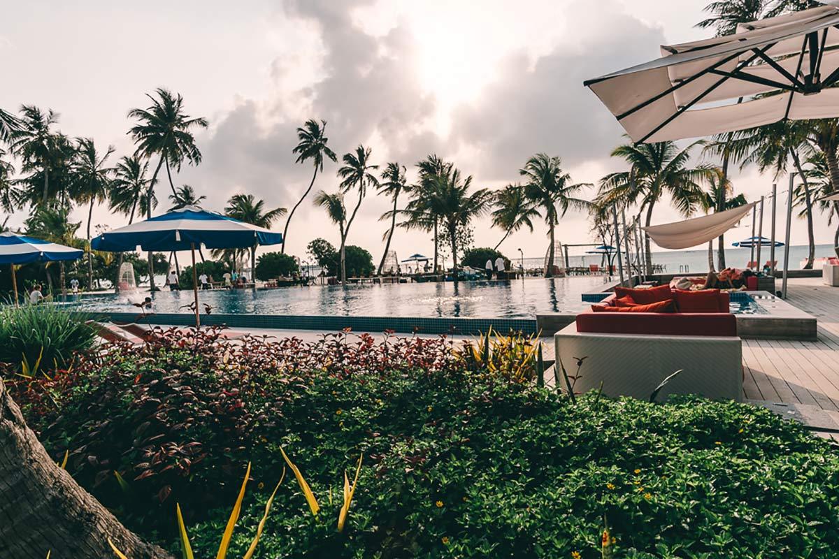 Pool Flavour Malediven
