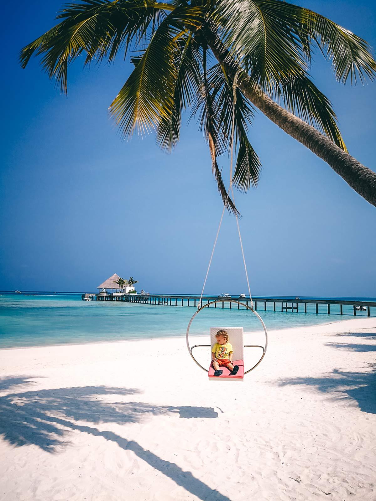 Strandschaukel Malediven