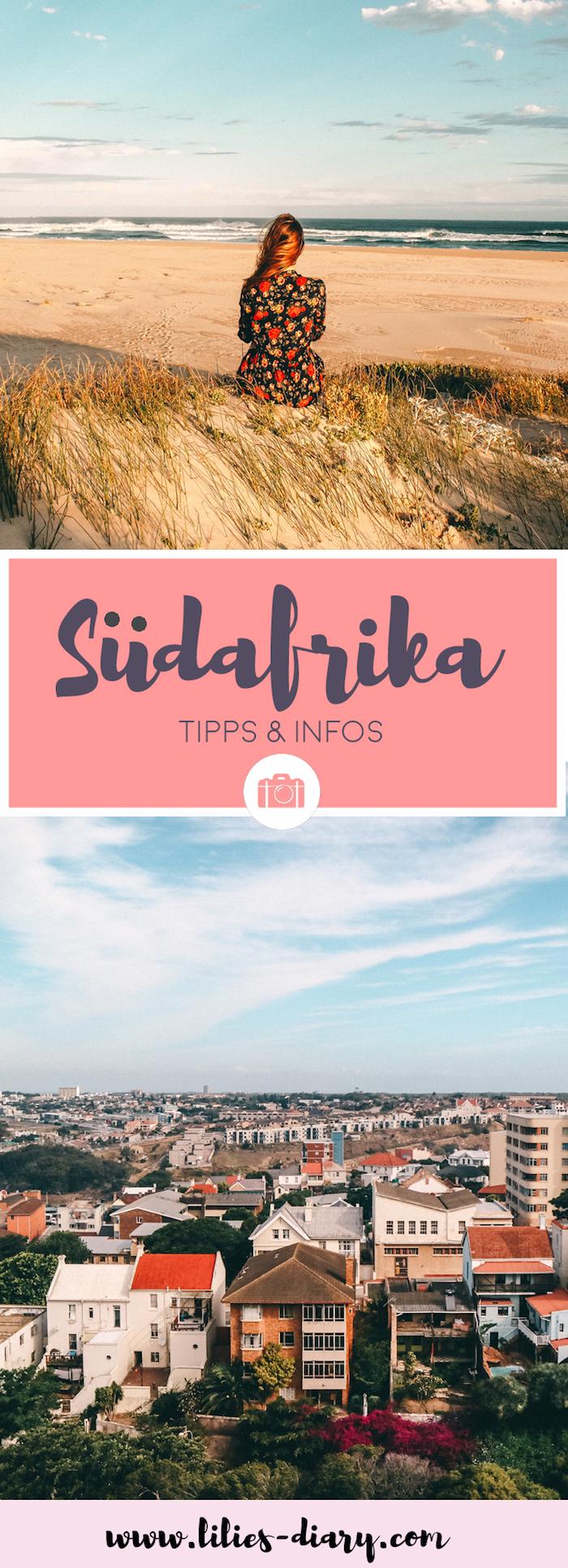 Südafrika Pinterest Cover Reisetipps und Infos