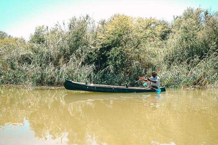 Kanu fahren in Südafrika