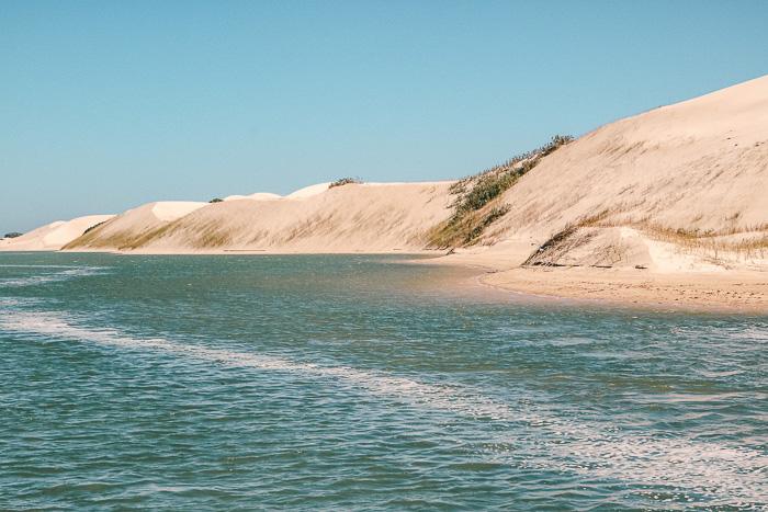 Sanddünen in Südafrika
