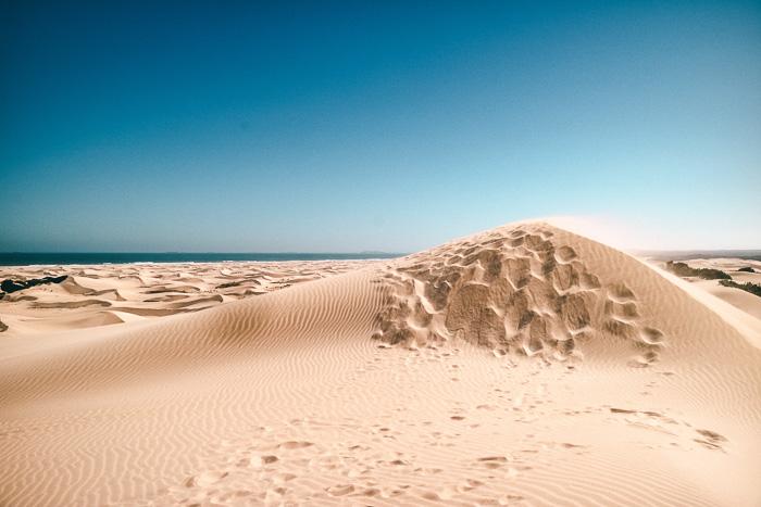 Wüste in Südafrika