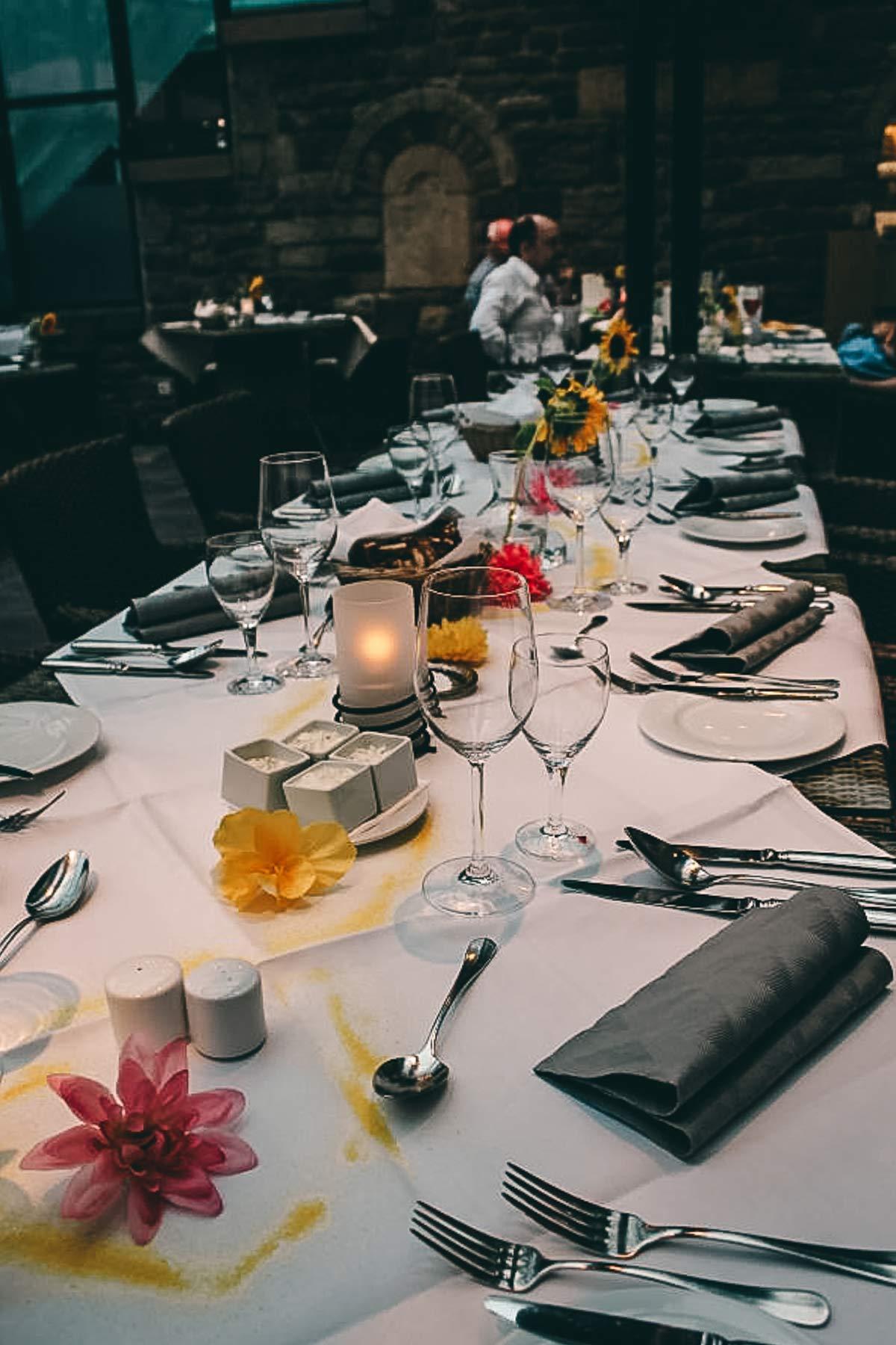 Abendessen Hotel Lindner