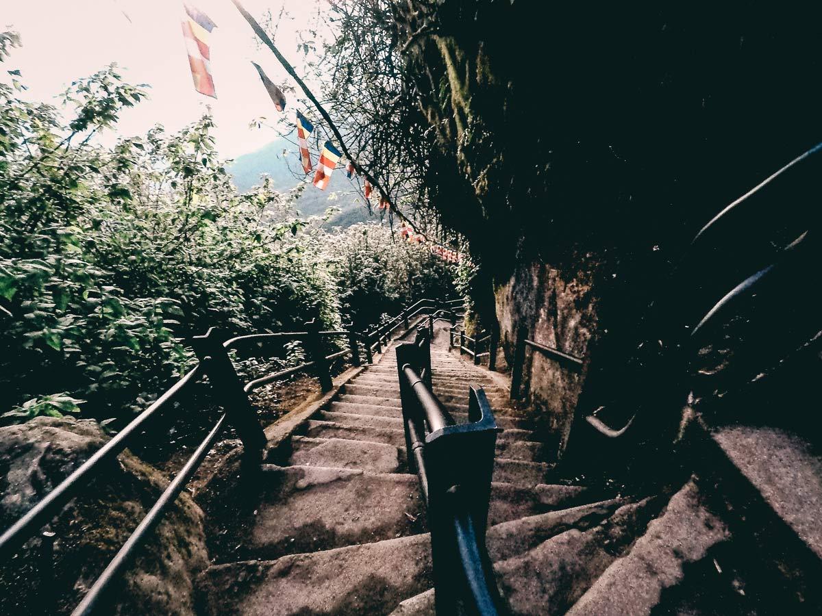 Adams Peak Treppen