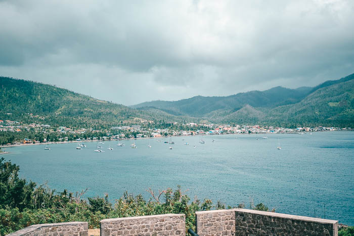 Aussicht Fort Shirley