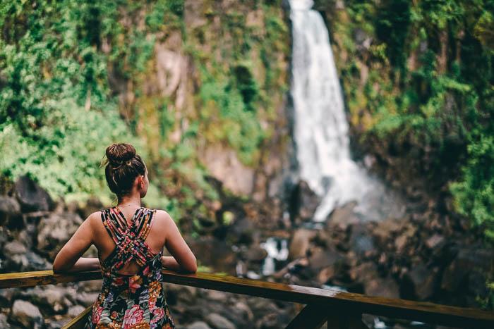 Christine Neder Trafalgar Falls Dominica