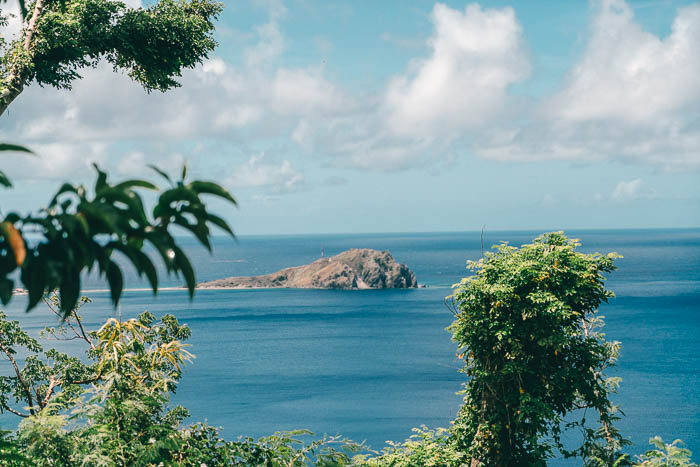 Dominica Aussicht Scotts Head