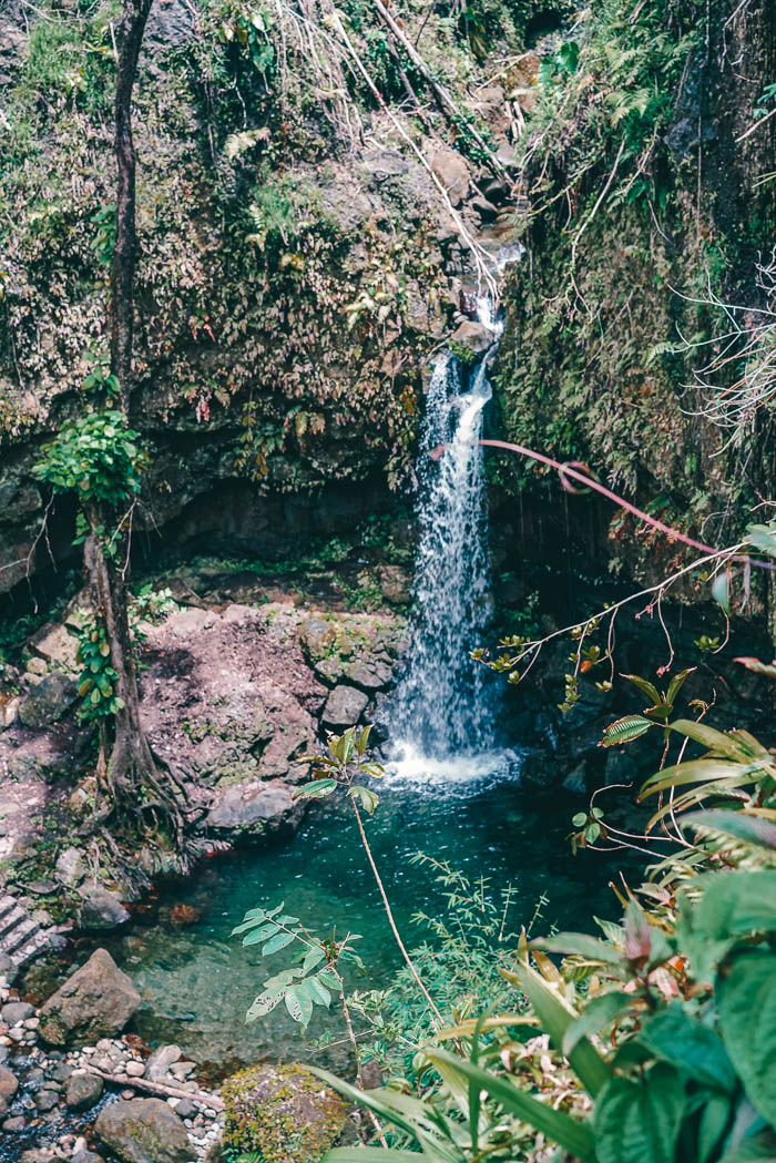 Emerald Pool von oben