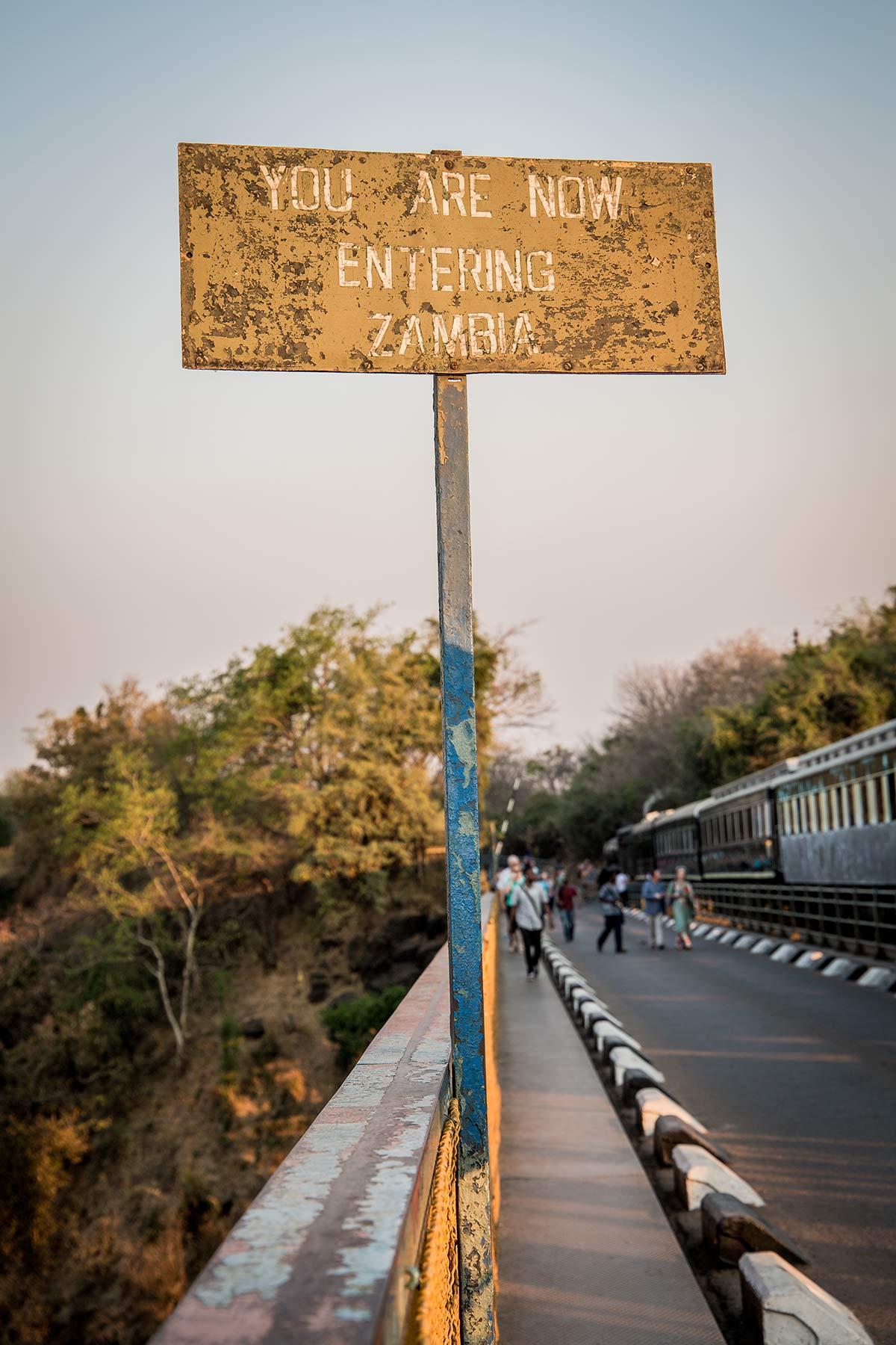 Nachbarland Simbabwe