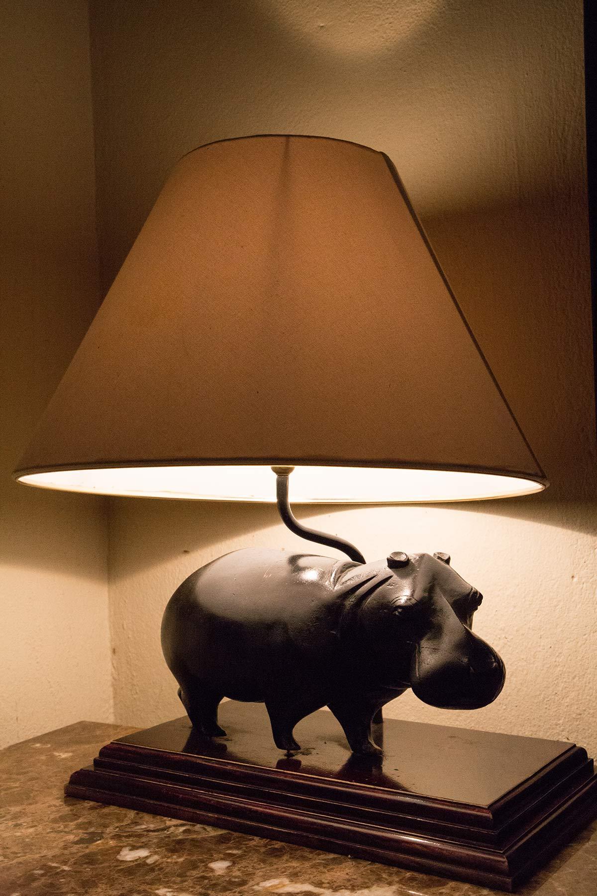 Nilpferd Lampe