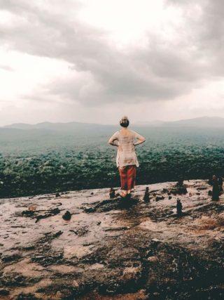 Pidurangula Aussicht vom Pidurangula