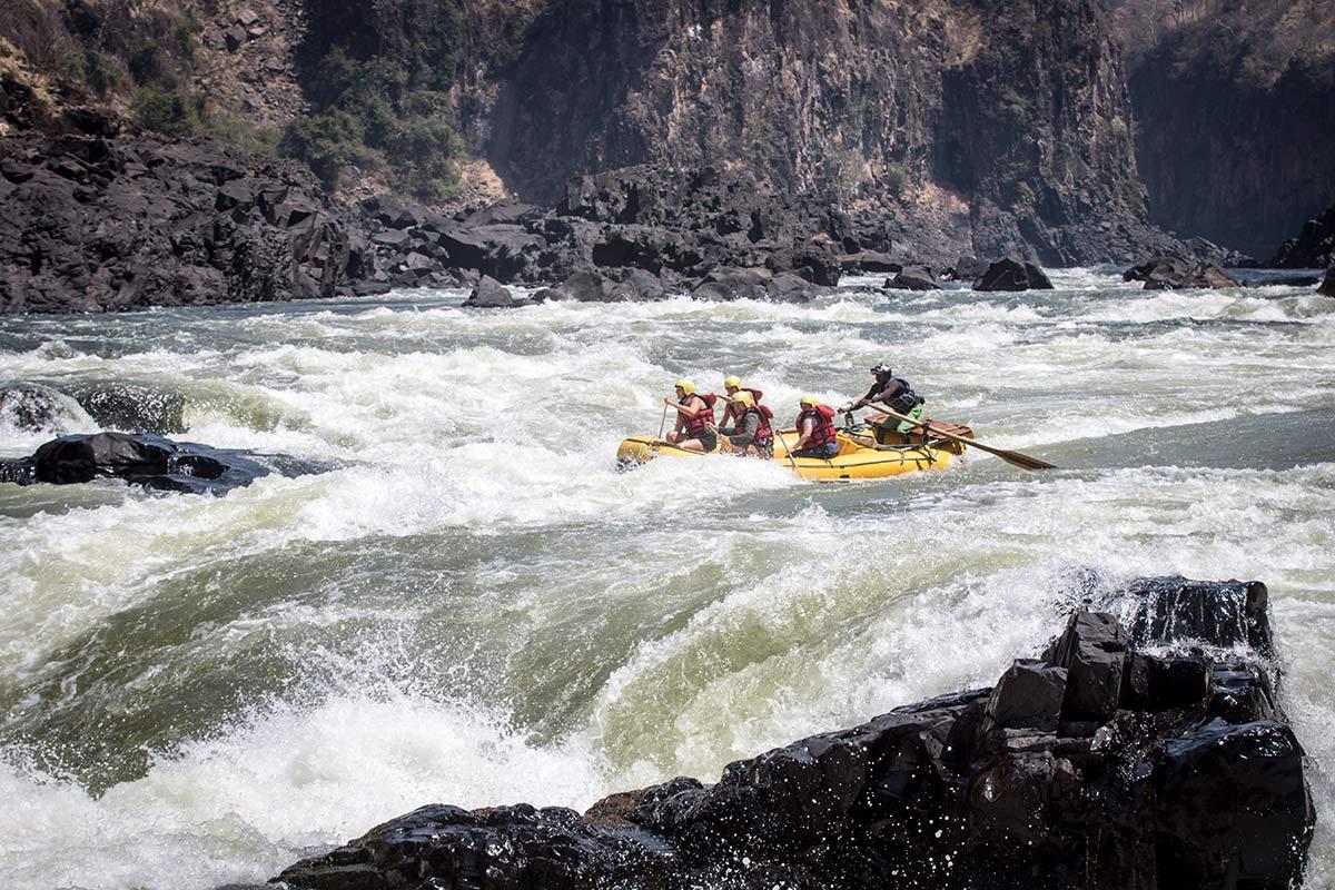Rafting Sambesi Sambia