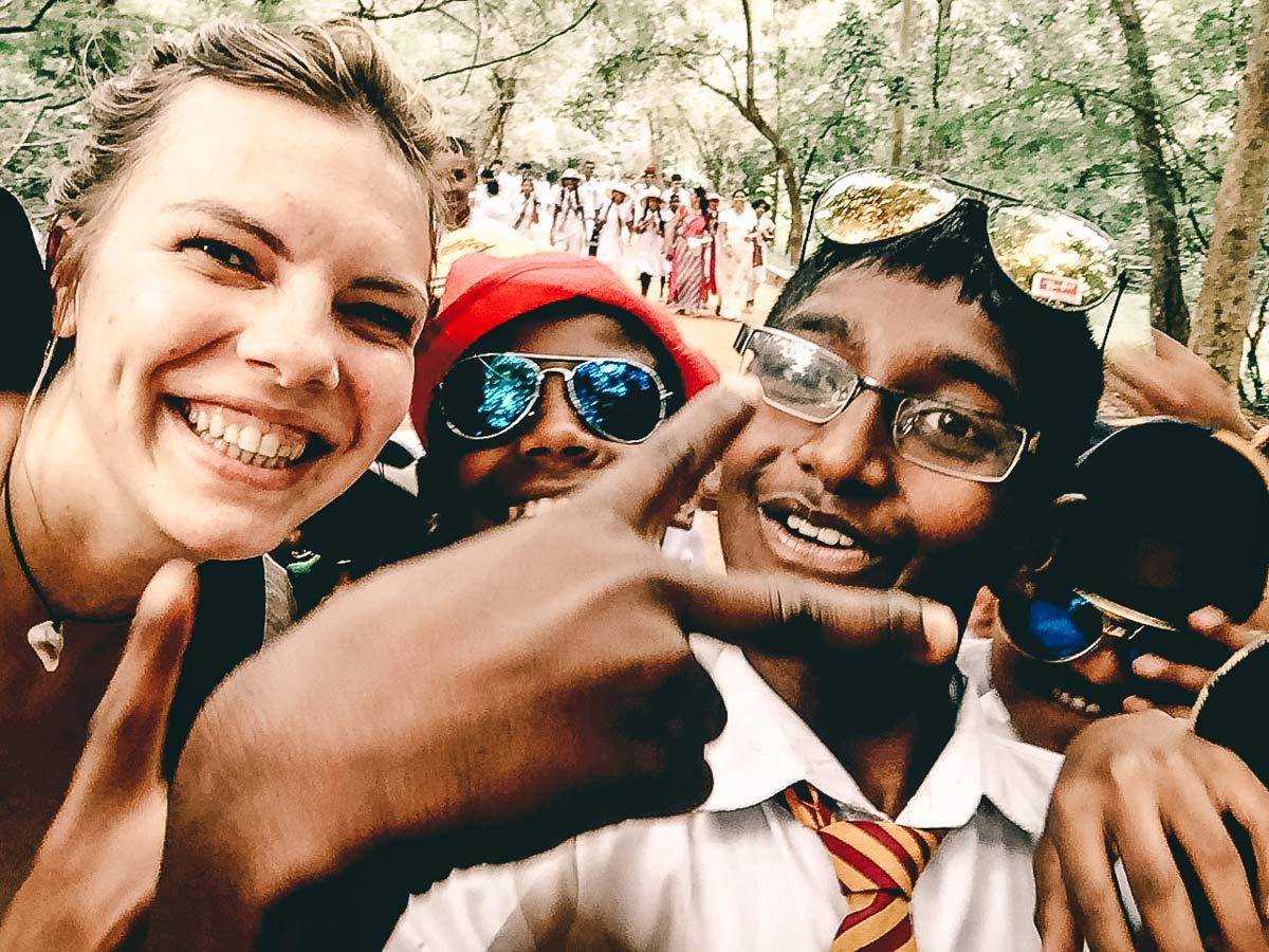 Schulkinder Sri Lanka