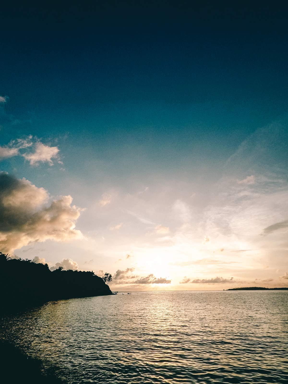 Sonnenuntergang Mirissa