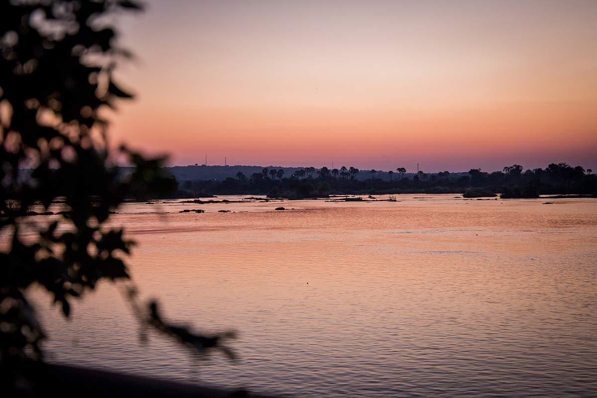 Sonnenuntergang Sambia