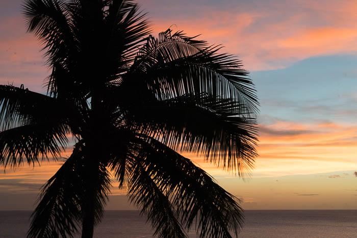 Tamarind Tree Hotel Sonnenuntergang