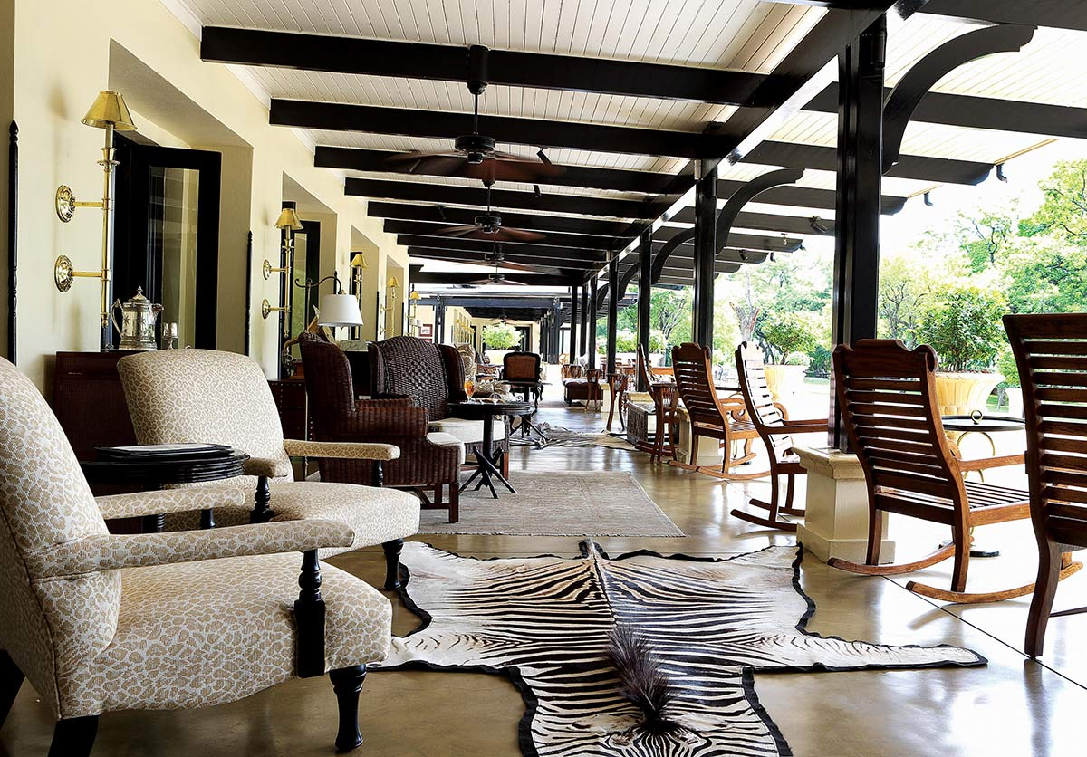Veranda Royal Livingstone