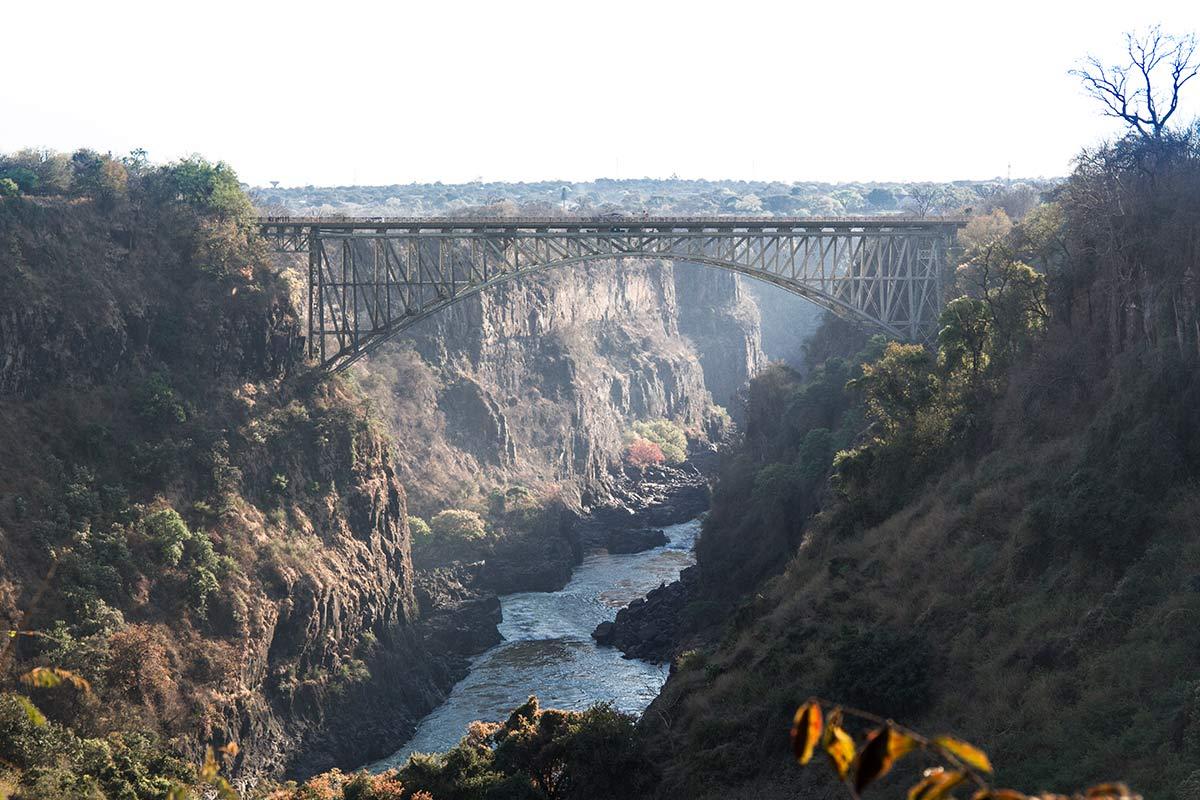 Victoria Falls Bridge Sambia