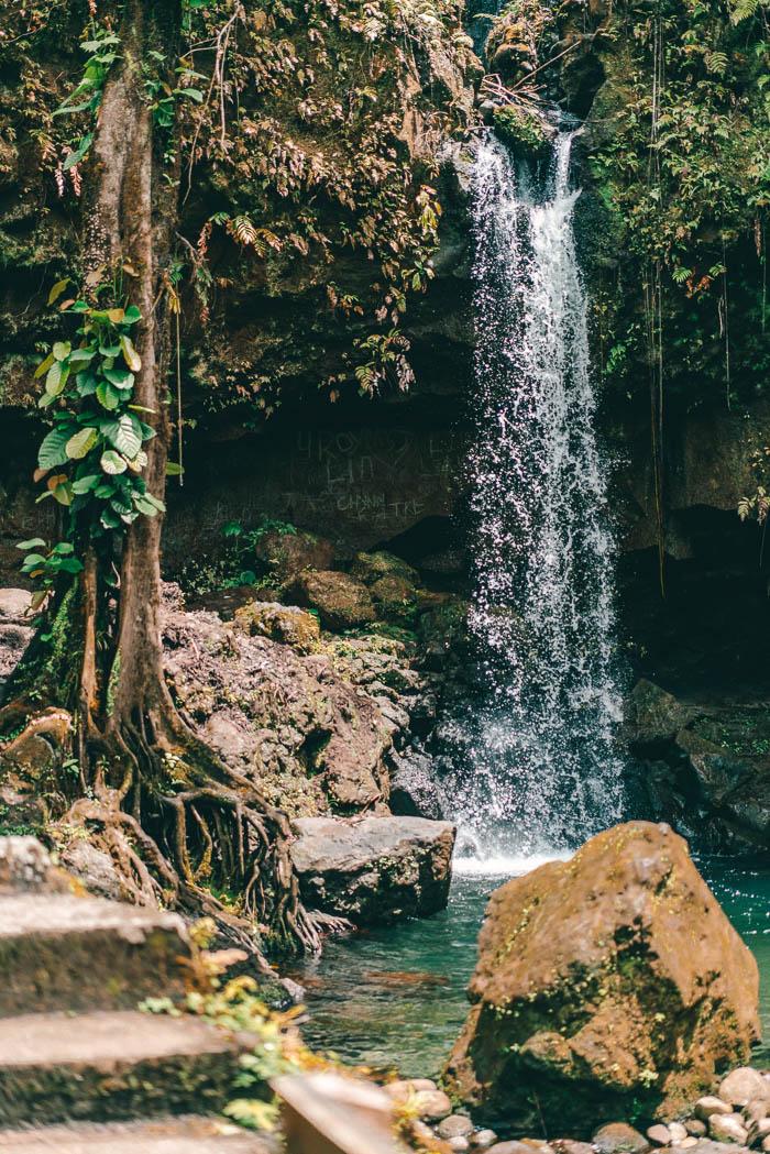 Wasserfall Emerald Pool