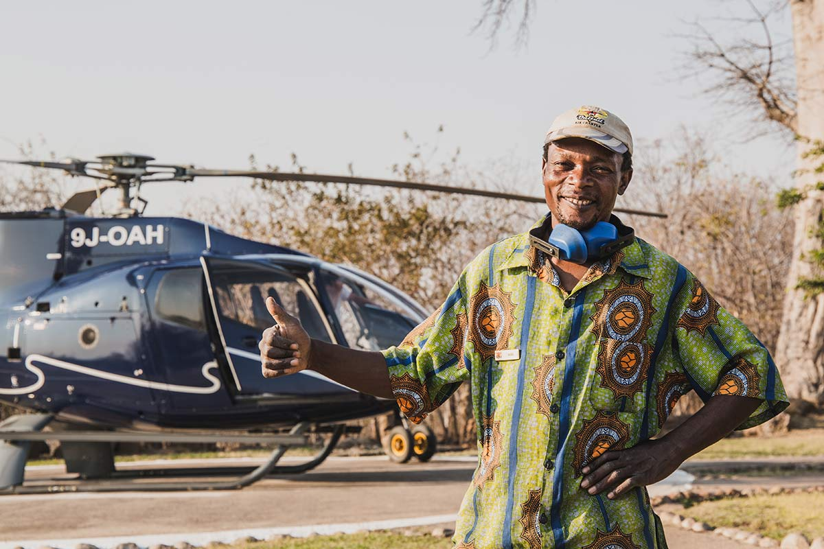 Willkommen bei United Charter Sambia