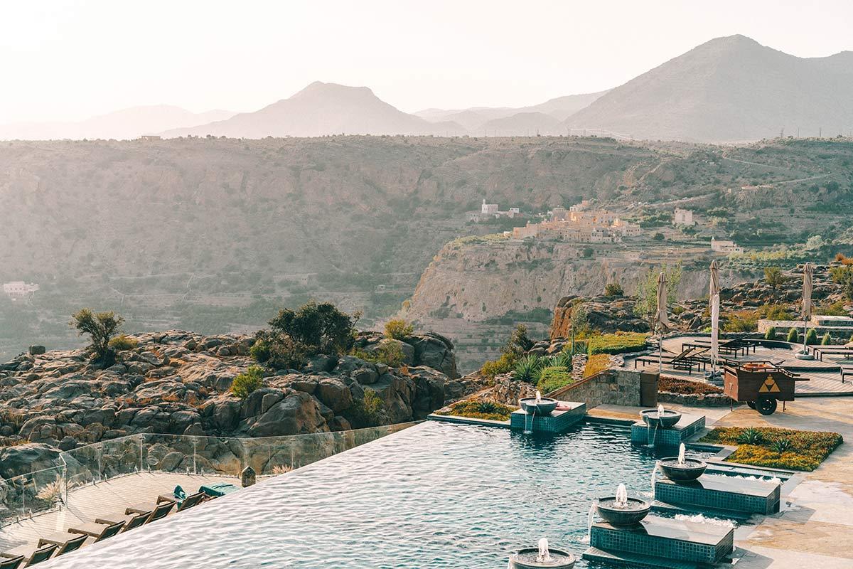Anantara Al Jabal Al Akhdar Pool