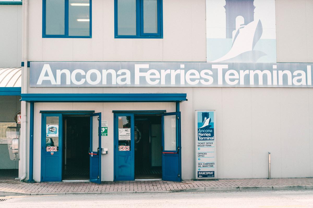 Ancona Ferries Terminal