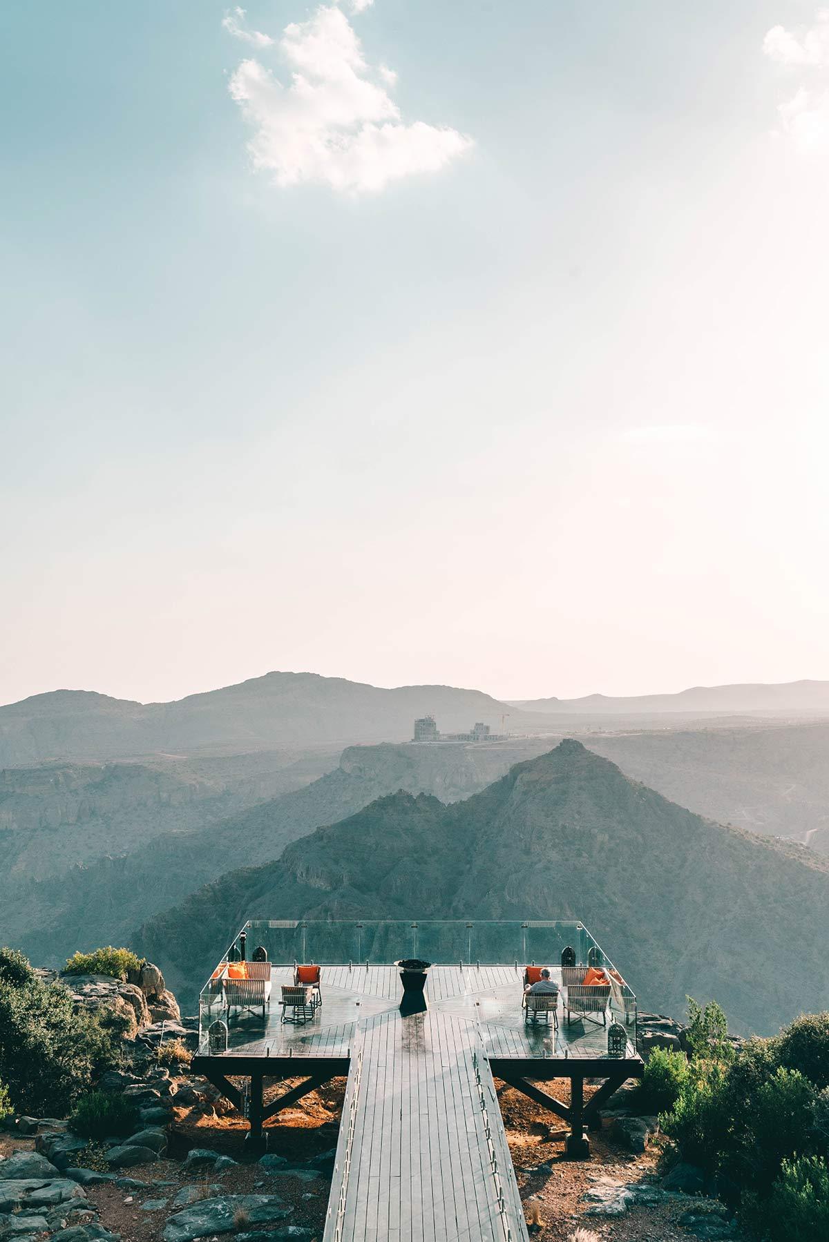 Aussichtplattform Hotel Oman