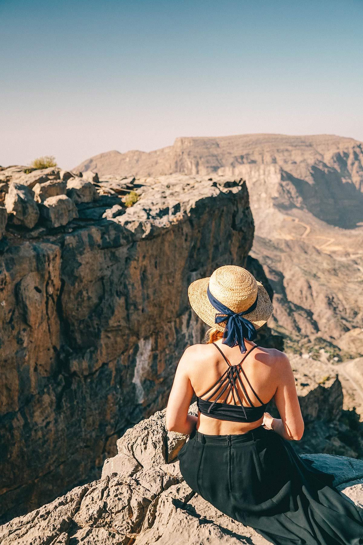 Christine Neder Gebirge Oman