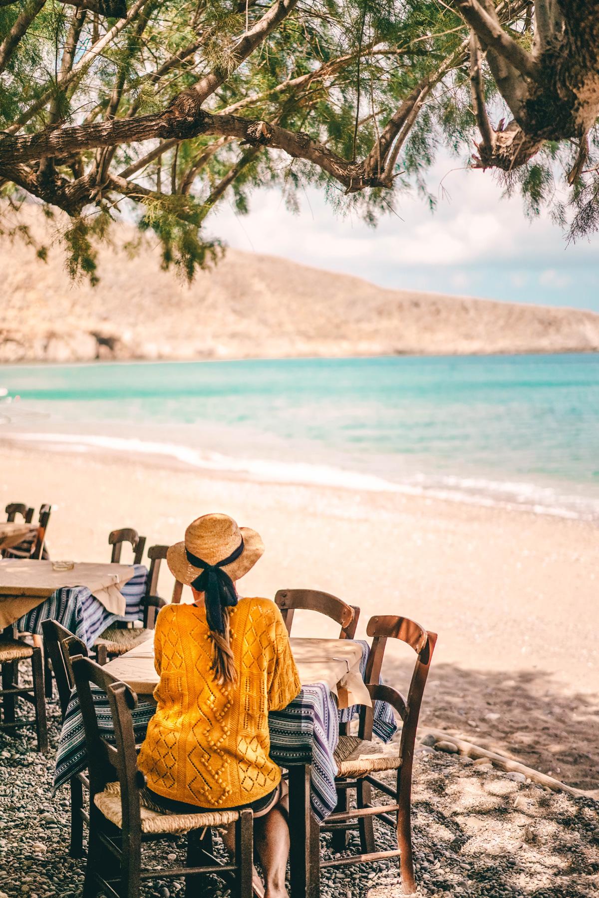 Christine Neder Kreta Urlaub