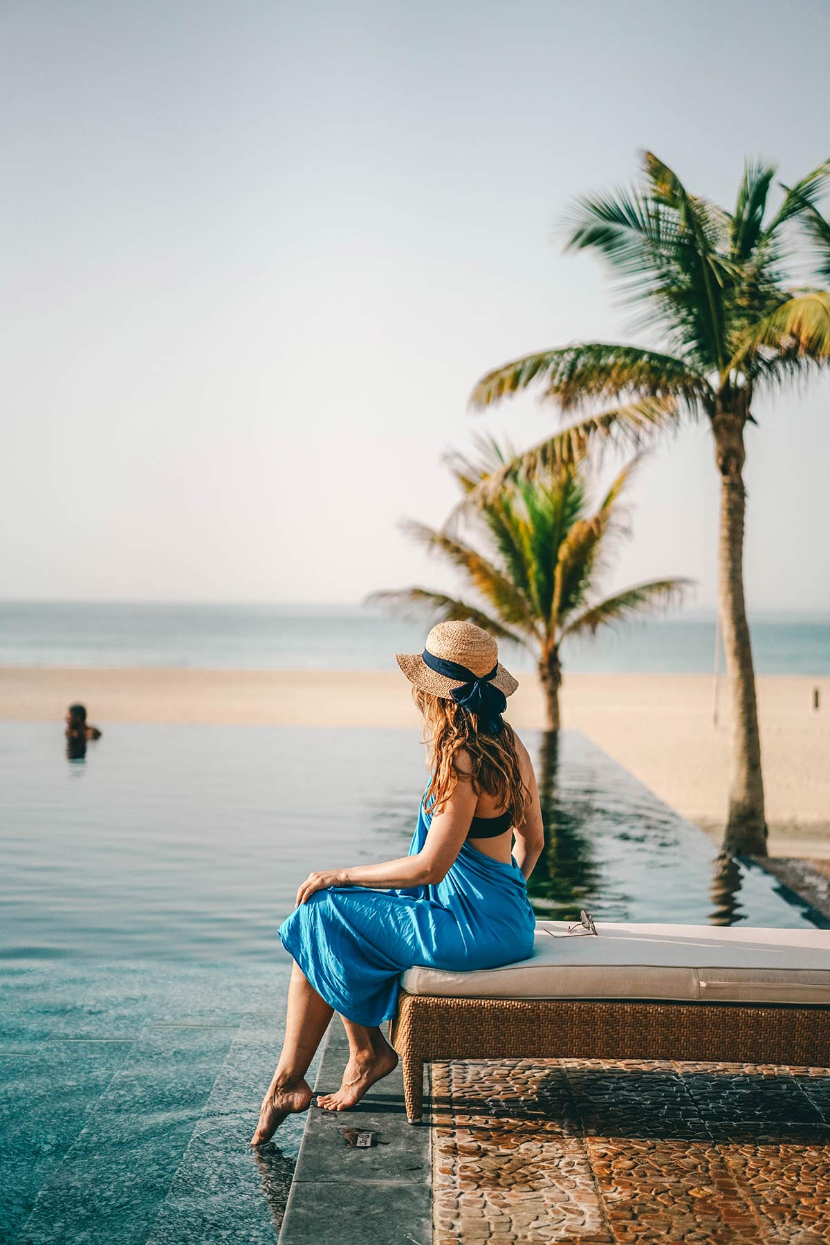Christine Neder Pool Al Baleed Resort Salalah by Anantara