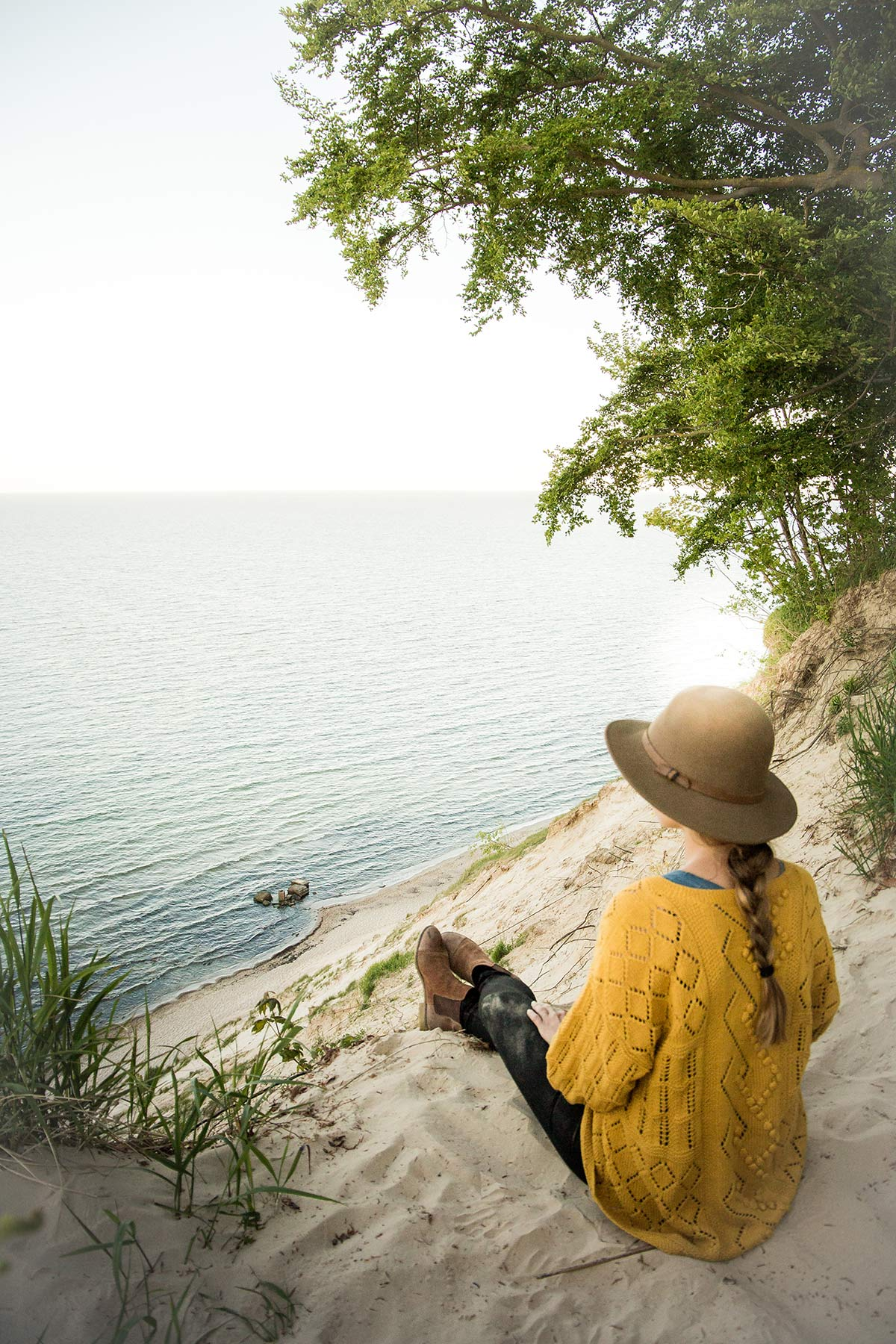 Christine Neder Wandern auf Rügen