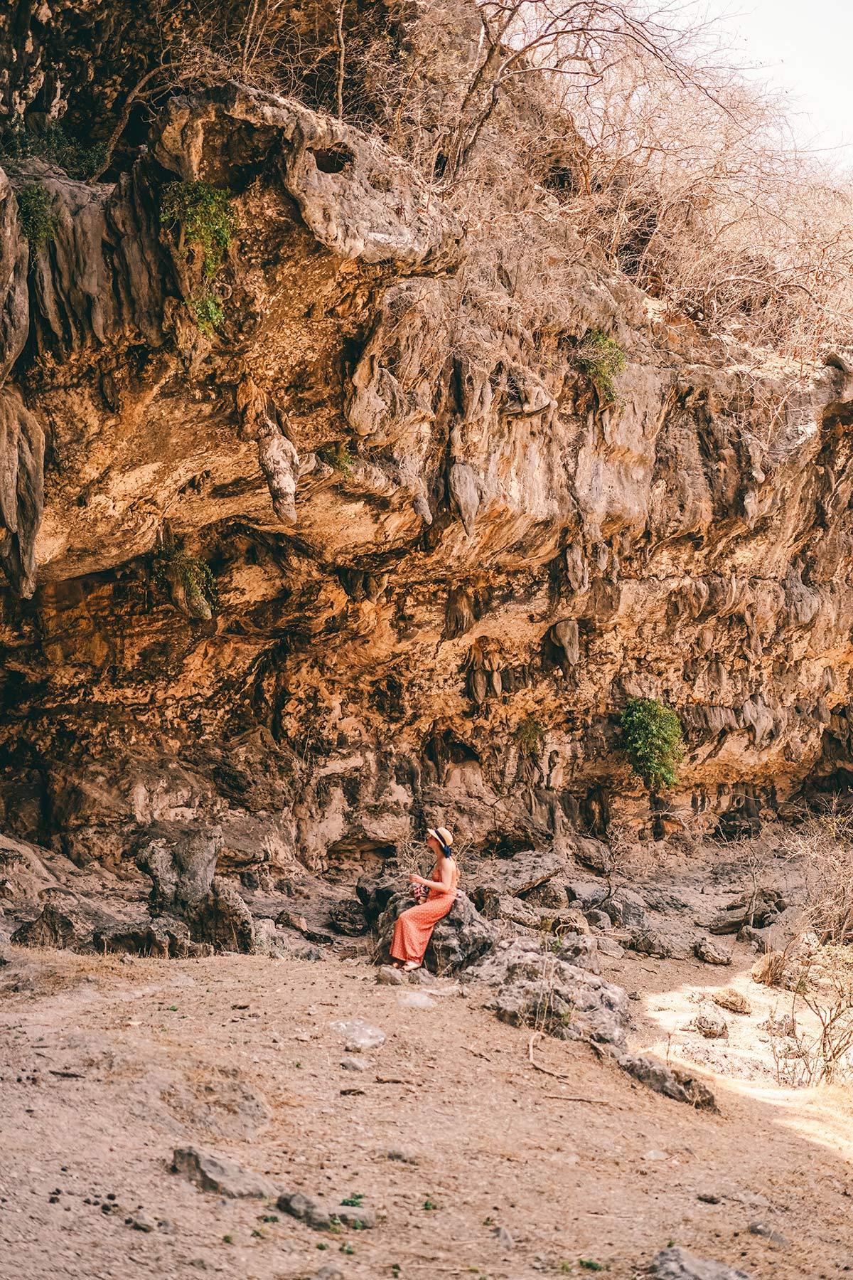 Geheime Höhle Oman