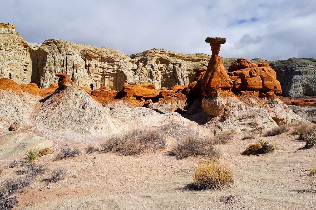 Landschaft Arizone Hoodoos
