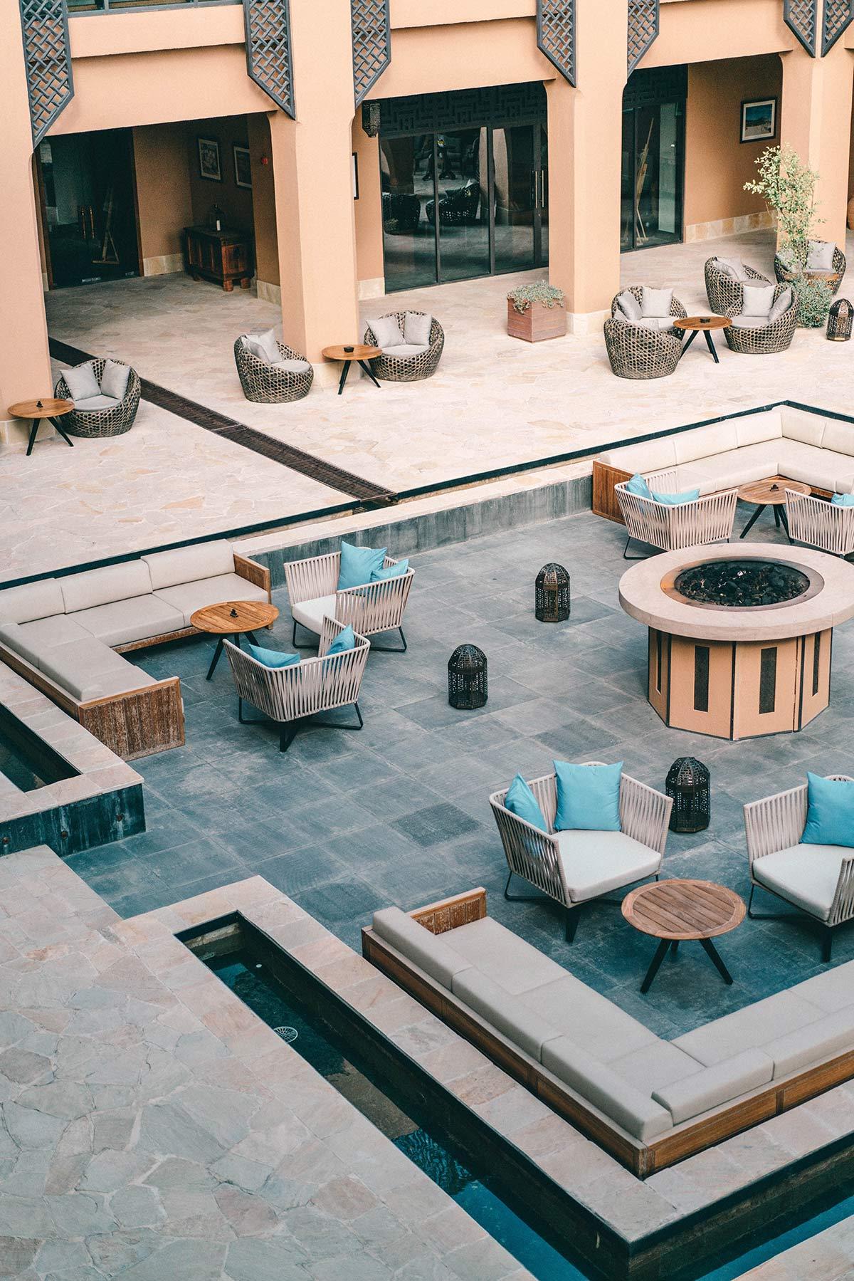 Lobby Anantara Al Jabal Al Akhdar