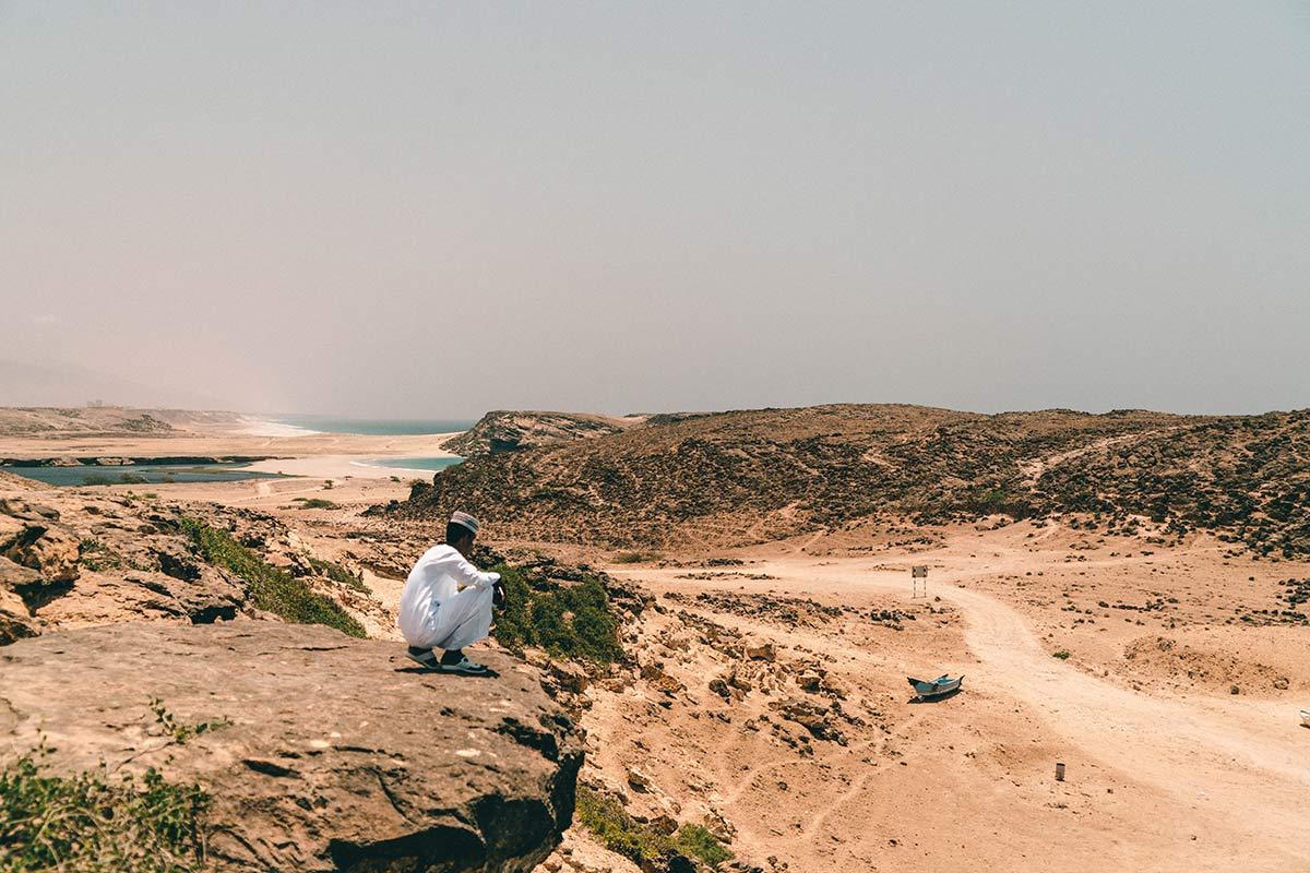 Oman Kuestenlandschaft