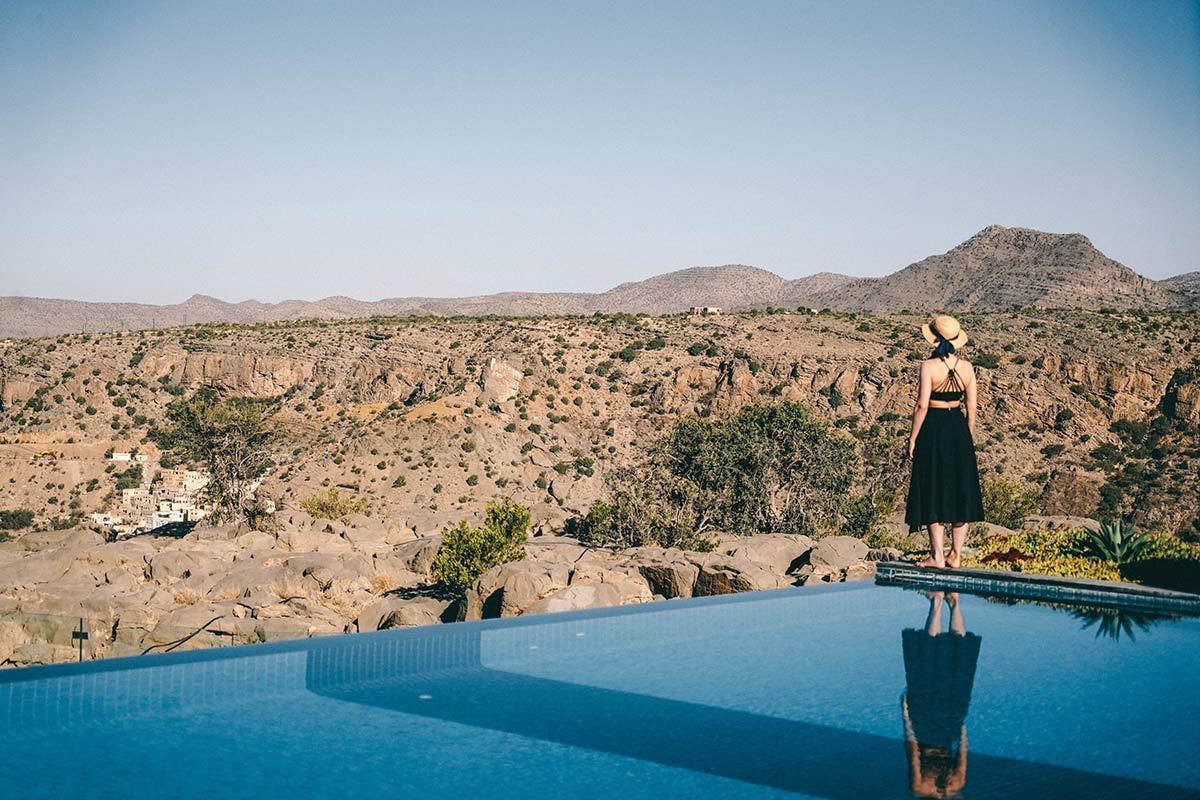 Pool Anantara Al Jabal Al Akhdar Christine Neder