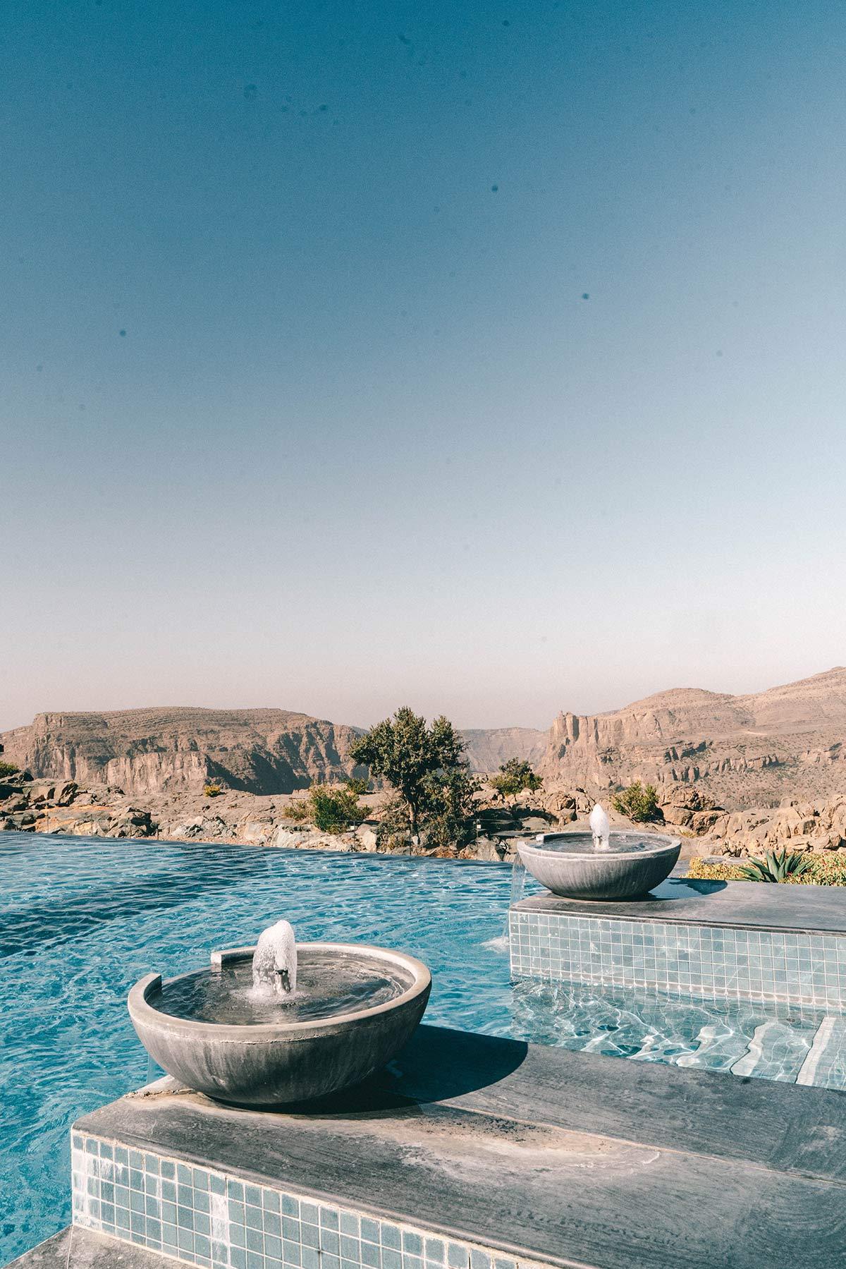 Pool Anantara Al Jabal Al Akhdar