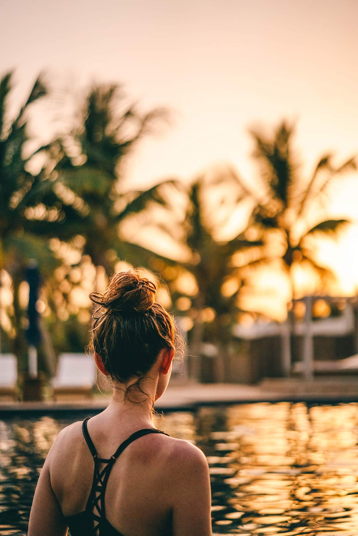 Sonnenuntergang Al Baleed Resort Salalah by Anantara