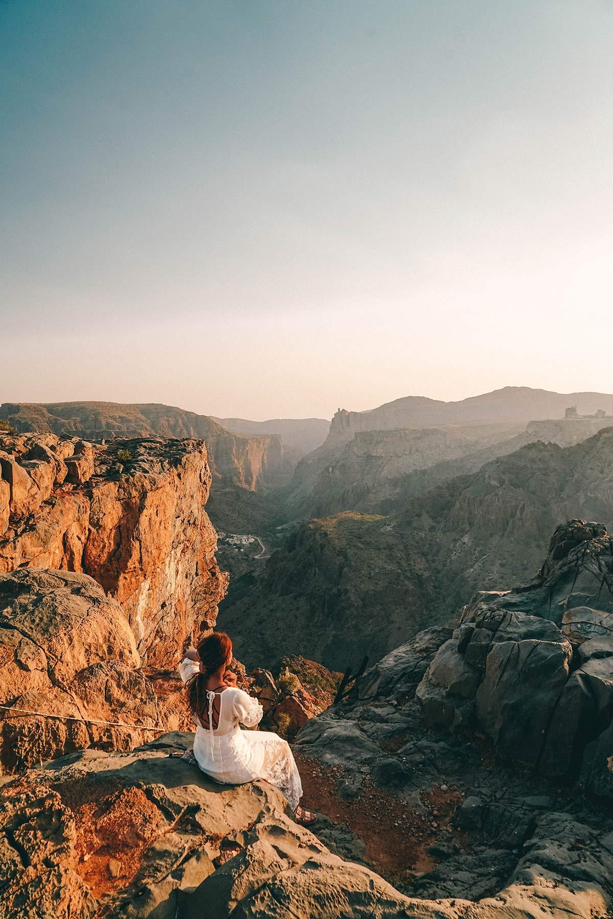 Sonnenuntergang Christine Neder Anantara Al Jabal Al Akhdar