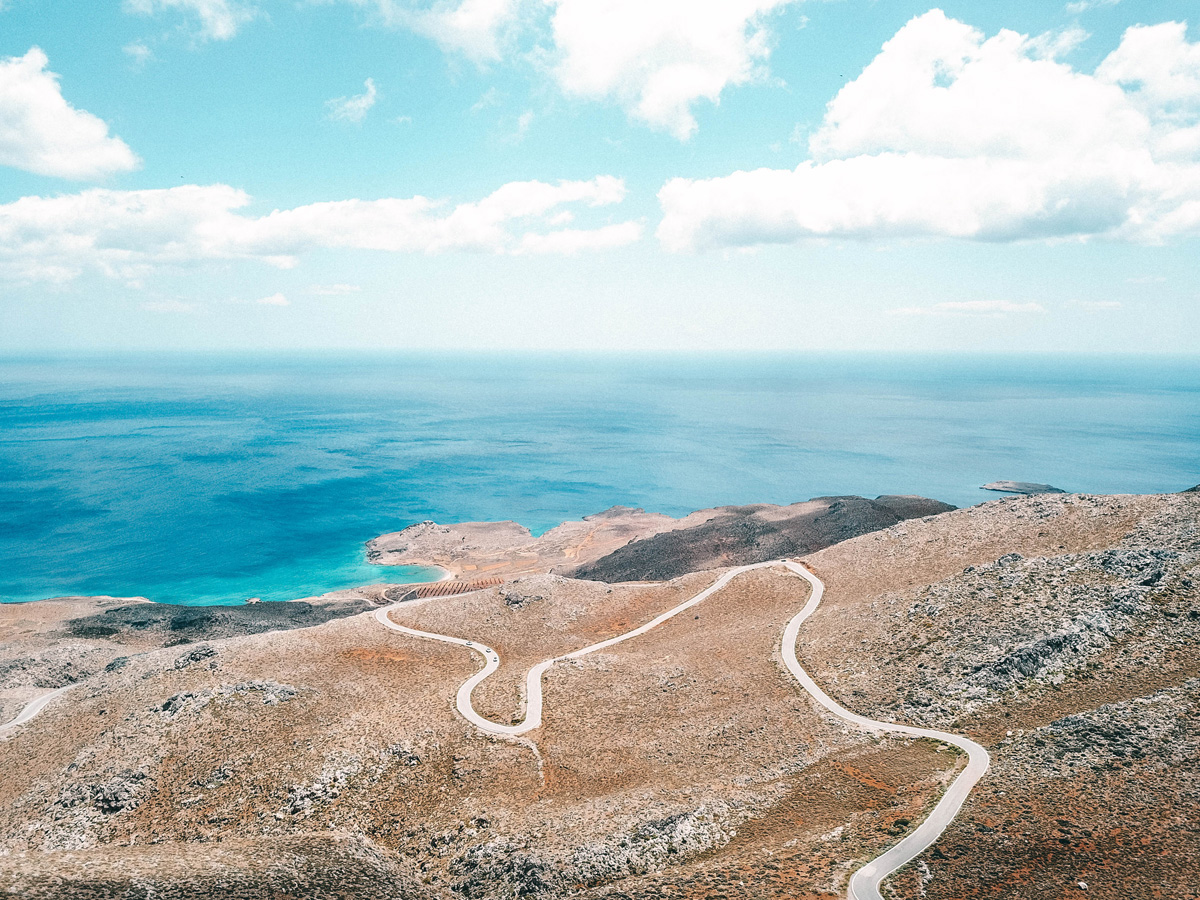 Straße Kreta