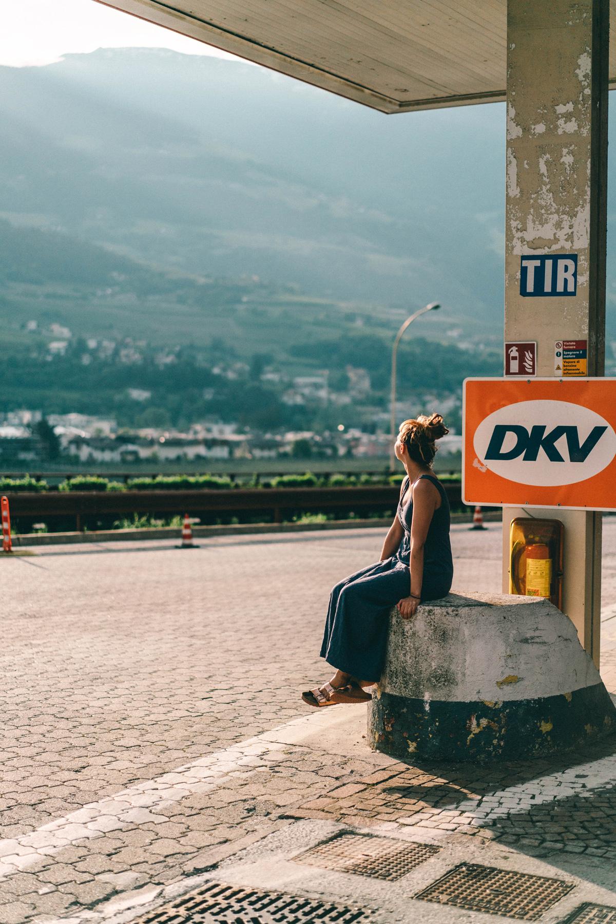 Tankstelle Südtirol