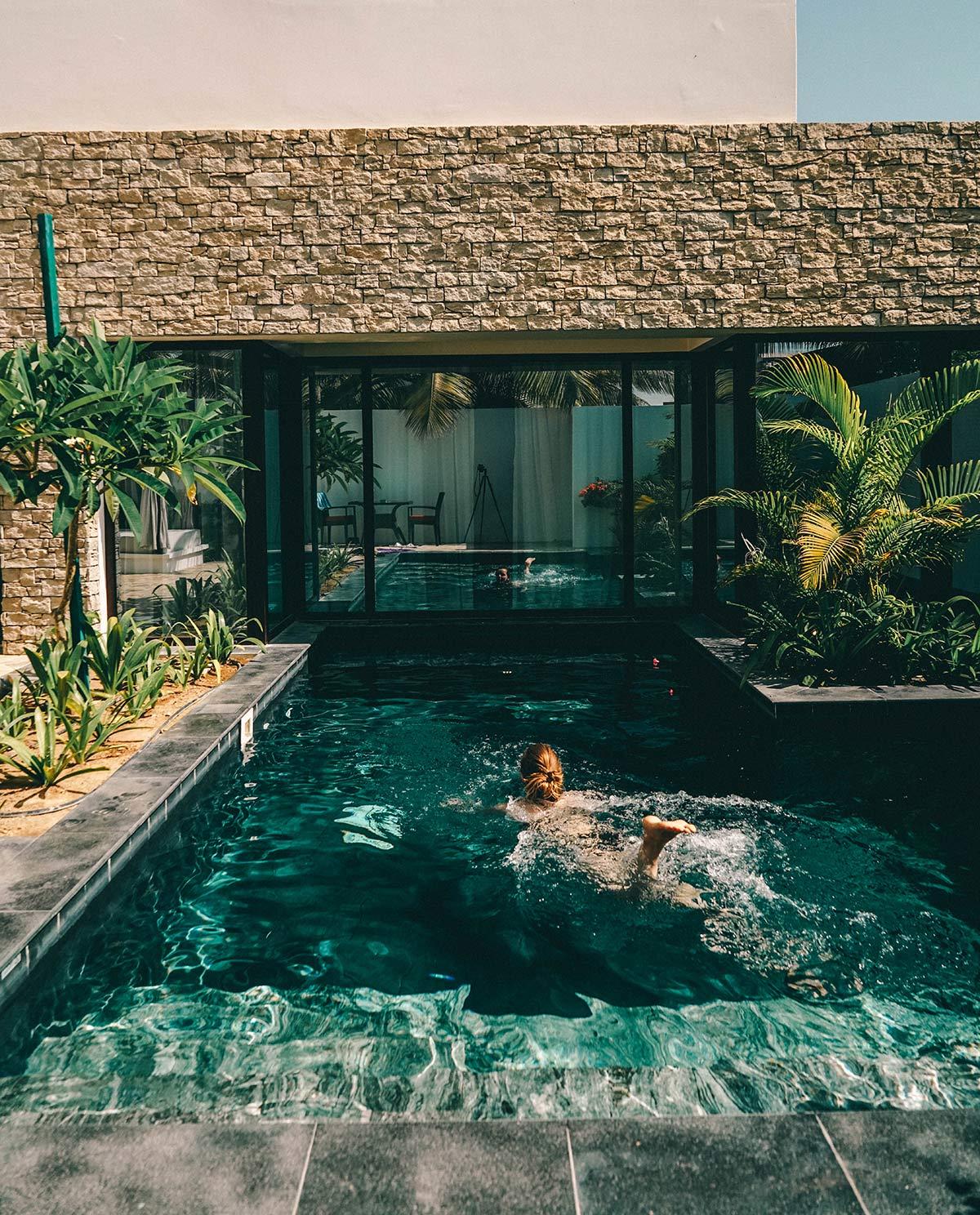 Villa mit Pool Oman
