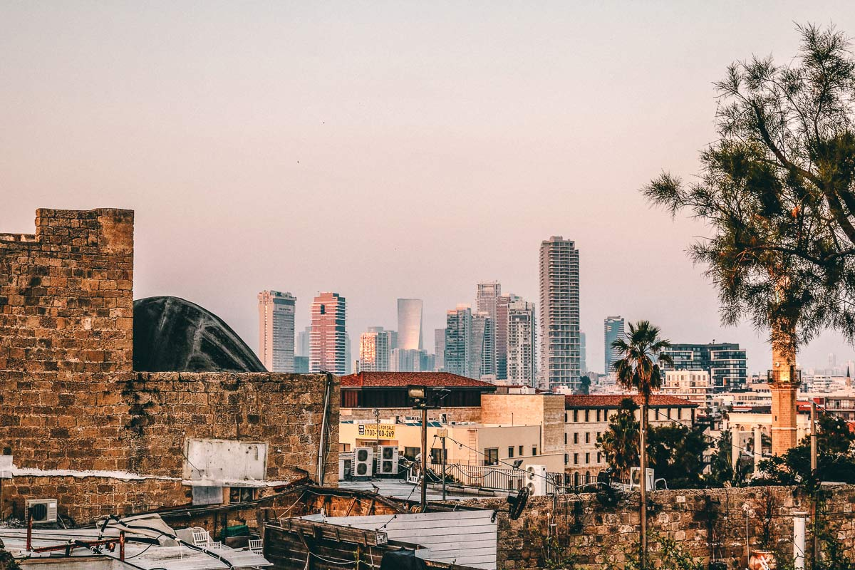 Tel Aviv Altstadt Neue Gebaeude