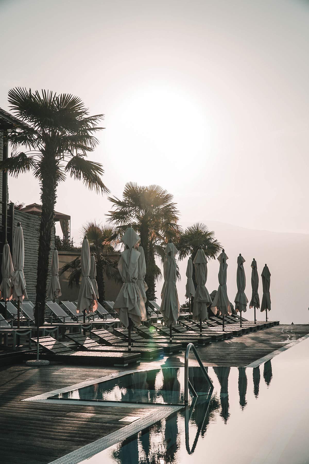 Abendsonne im Lefay Resort