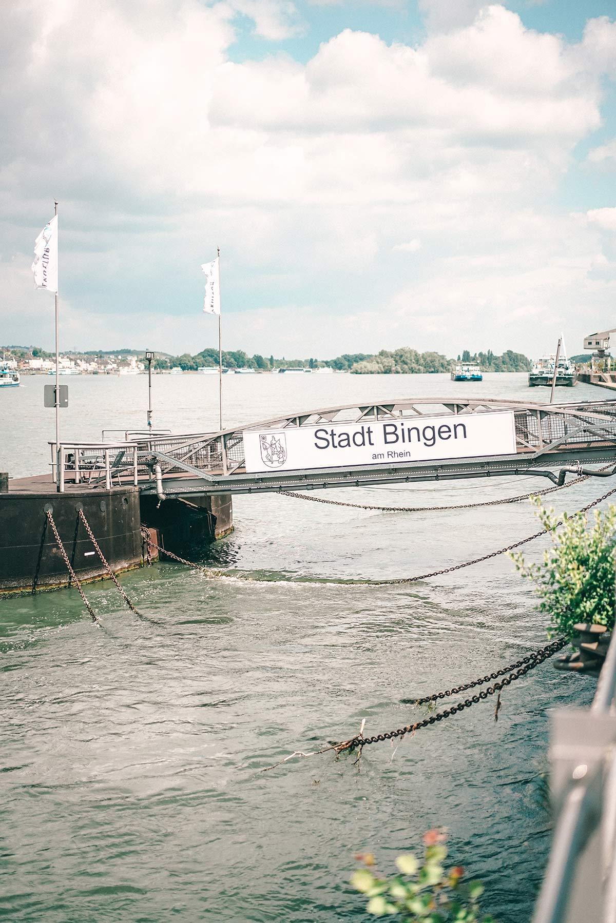 Anlegeplatz Bingen am Rhein