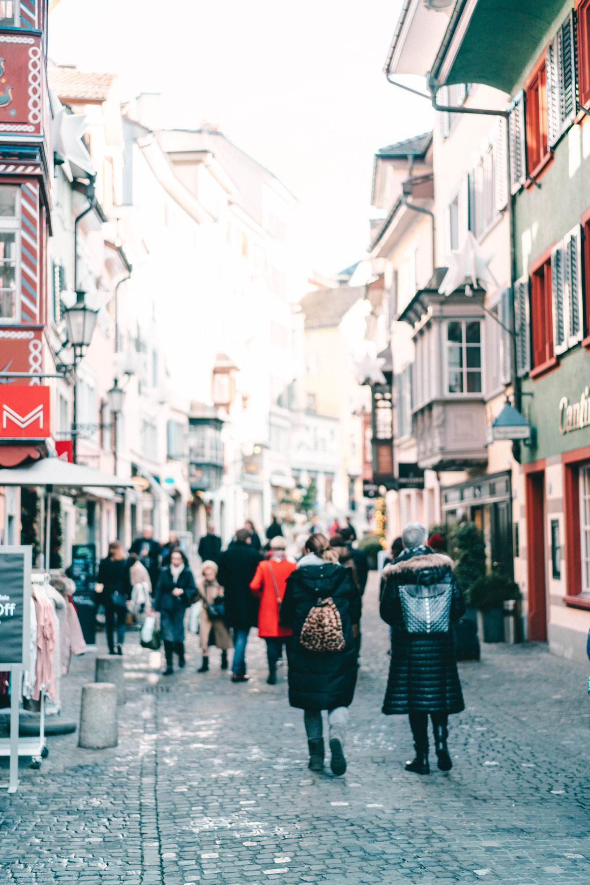 Augustgasse-Zürich