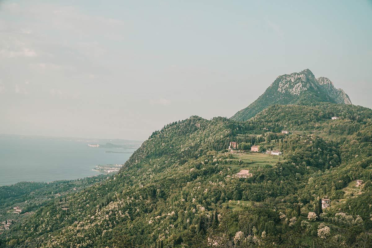 Aussicht Gardasee Lefay Spa Resort