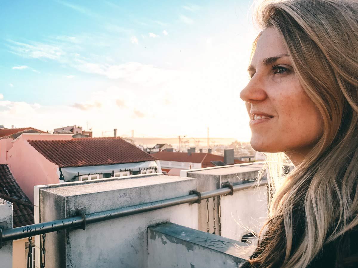 Aussicht Lissabon Julia